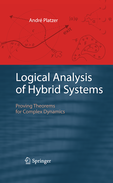 andre platzer thesis Statistical model checking with applications to systems chris langmead, andre platzer, and paolo zuliani intel xudong zhao's thesis on word level model.